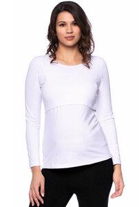 103 BASIC Umstands- und Stillshirt langarm aus Bio-Baumwolle - Milchshake