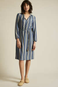 Kleid mit Streifen aus LENZING ECOVERO - LANIUS