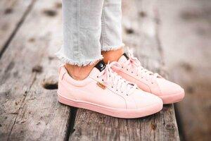 Vegane Sneaker für Damen -Cannon Gold-Rose - SAOLA