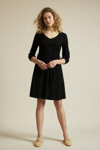 Kleid mit Taillierung aus Bio-Baumwolle mit TENCEL Modal - LANIUS
