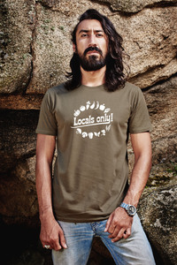 Locals Only T-Shirt for Men - awear