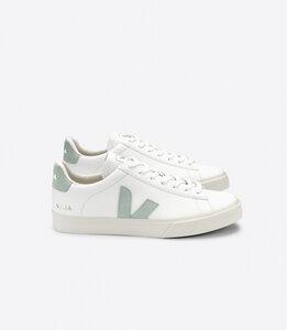 Sneaker Damen - Campo Chromefree Leather - Extra White Matcha - Veja