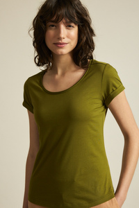 Kurzarmshirt GOTS aus Bio-Baumwolle - LANIUS