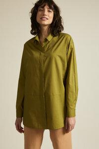 Lange Bluse GOTS aus Bio-Baumwolle - LANIUS