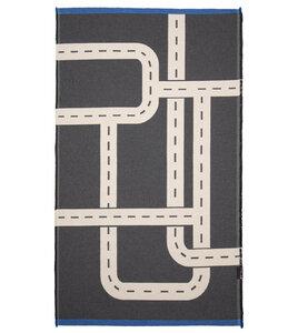 """Teppich Goliath """"Straße"""" klein, aus Recycling-Baumwolle - David Fussenegger"""
