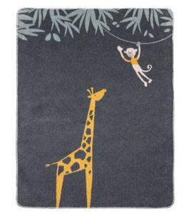 Babydecke 75 x 100, Giraffe - David Fussenegger