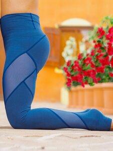 Energy Legging aus Biobaumwolle und Netzstoff - nice to meet me