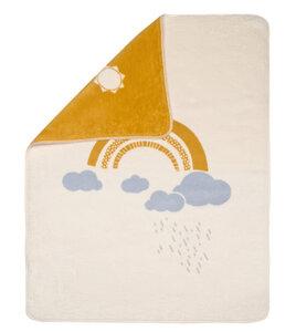 Babydecke Regenbogen 75 x 100 aus Biobaumwolle - David Fussenegger