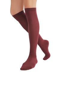 1 oder 3 Paar Kniestrümpfe Socken 98% Bio-Baumwolle Unisex - Albero