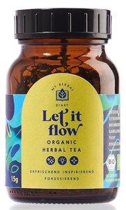 LET IT FLOW, fokussierender Yogatee aus 5 heimischen BIO-Kräutern - My Herbal Diary