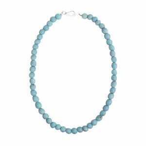 Halskette mit Perlen aus Recycling Glas, 46 cm - Global Mamas