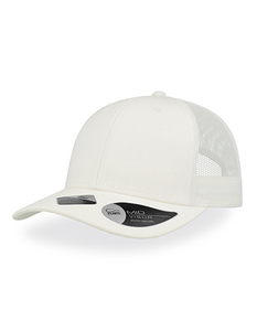Atlantis Recy Three Recycled Cap Mesh Rückseite 100% recycltes Polyester recyclte Baumwolle - Atlantis Headwear