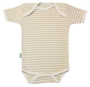 Lotties Baby-Body kurzarm geringelt gestreift Bio Baumwolle 50/56-98/104 - Lotties