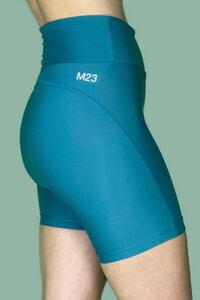 "Yoga Radlerhose aus recyceltem Nylon/Elastan, Modell ""Sue"" - M23"