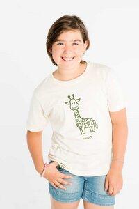 Twiga - Kleine Giraffe - Bio T-shirt für Kinder - Naturweiß - Unisex - Maishameanslife