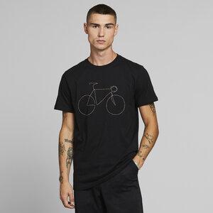 T-Shirt aus Bio Baumwolle - Stockholm - Rainbow Bicycle - DEDICATED