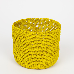 RAFFIA Korb in 4 Farben und 2 Größen - Afroart