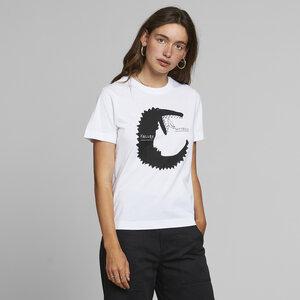 T-Shirt aus Bio Baumwolle - Mysen Failure Success White - Weiß - DEDICATED
