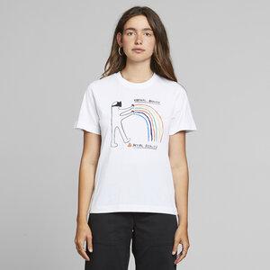 T-Shirt aus Bio Baumwolle - Mysen Virtual Reality - Weiß - DEDICATED
