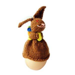 Osterhase Eierwärmer gestrickt - Just Be