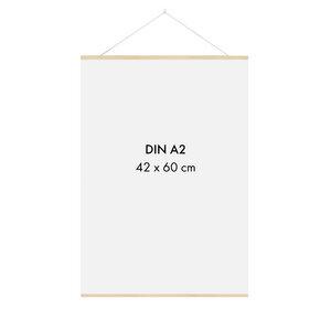 Posterleiste Holz 42 cm (DIN A3, DIN A2) - Sprintis