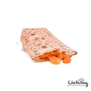 Bienenwachstuchbeutel klein Winterling Rosa Wachsling - Wachsling