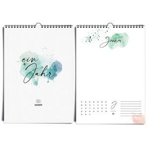Fotokalender A4 HAPPY SPLASH immerwährend - heaven+paper