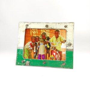 Bilderrahmen 13x18 cm aus recycelten Ölfässern | verschiedene Farben | Industrial Design Upcycling - Moogoo Creative Africa