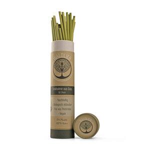 Trinkhalme aus Gras - die natürliche Alternative zum Plastik-Strohhalm -50 Stück- - Waldlieb