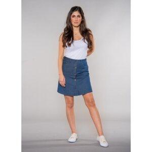 Sonia   A-shape Skirt   LightDenim - Feuervogl