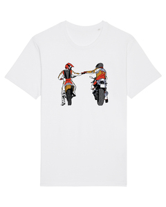 Motorcycle Fist | T-Shirt Unisex - wat? Apparel UNISEX