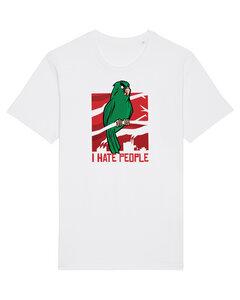 Parrot Hate People | T-Shirt Unisex - wat? Apparel UNISEX