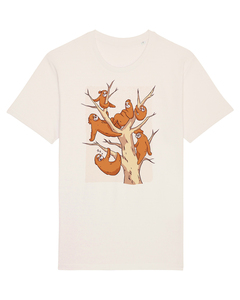 Sloth Family | T-Shirt Unisex - wat? Apparel UNISEX