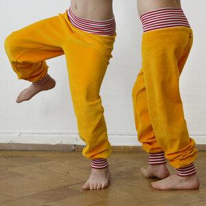 Kinder Nicki Hose gelb - Cmig