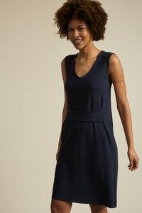 Kleid mit Bindedetail TENCEL Lyocell mit Bio-Baumwolle - LANIUS