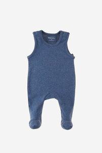 Bio Babystrampler mit Füßen und ohne Arme - Finn - Lana naturalwear