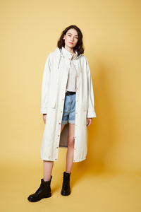 Damen Regenmantel - Coat Callahan - mit Bio-Baumwolle  - LangerChen