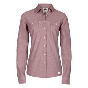 bleed Ladies Oxford Shirt Red - bleed