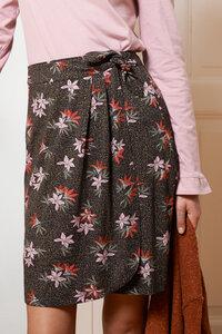 Wickelrock aus bedruckten Jersey - ME&MAY