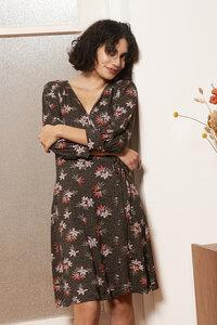 Wickelkleid Esther aus Viskoseprint - ME&MAY