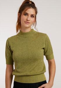 Damen Kurzarm Pullover Bio Fair - ThokkThokk