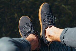 Vegane Sneaker für Herren - Cannon Canvas Obsidian - SAOLA