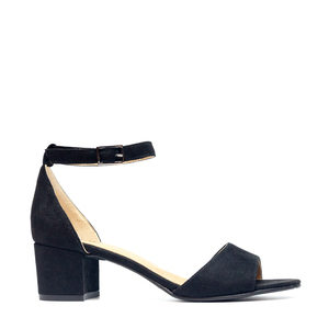NAE Cora Black - Vegane Damensandalen - Nae Vegan Shoes