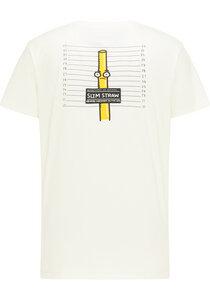 T-Shirt - Arrested Slim Straw Tee - aus Bio-Baumwolle - SOMWR