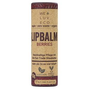 WE LUV ECO Lipbalm Berries - WE LUV ECO