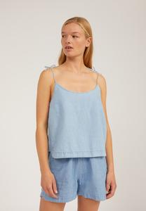 NITYAA - Damen Bluse aus Bio-Baumwoll-Leinen Mix - ARMEDANGELS