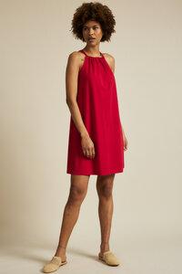 Neckholderkleid aus Bio-Baumwolle mit TENCEL Modal - LANIUS