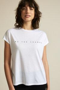 "Shirt ""Change"" GOTS aus Bio-Baumwolle - LANIUS"
