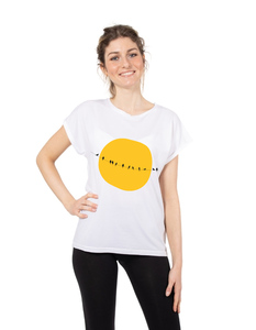 Eukalyptus T-Shirt Laura mit Vögeln - CORA happywear