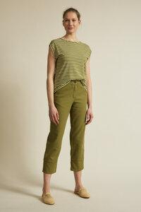 Streifenshirt aus Hanf mit Bio-Baumwolle - LANIUS